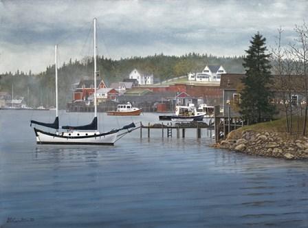 Tranquil Harbor by David Knowlton art print