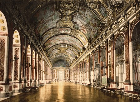 Hall of Mirrors Versailles by Mindy Sommers art print