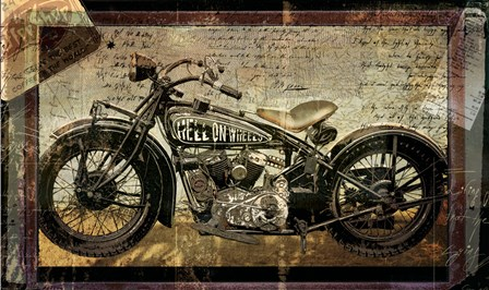 Hell on Wheels by Mindy Sommers art print