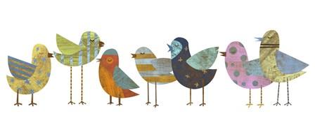 Flock 01 by John W. Golden art print
