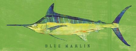 Blue Marlin by John W. Golden art print