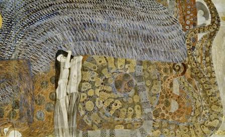 Gnawing Sorrow, 1902 by Gustav Klimt art print