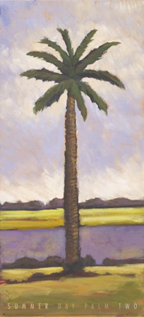 Summer Day Palm Two by Mindeli art print
