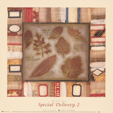 Special Delivery 2 by Maria Eva art print