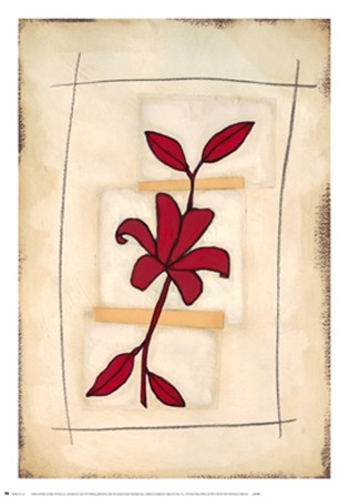 Floral Study I by Maria Eva art print