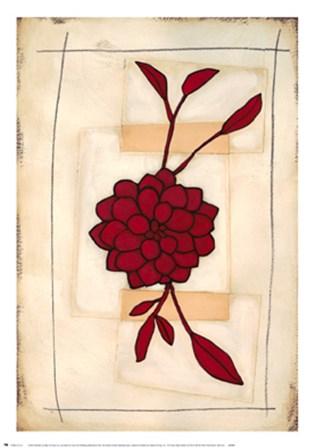 Floral Study II by Maria Eva art print