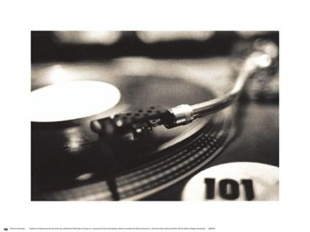 DJ by Maggie Heinzel-Neel art print