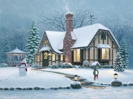 Christmas Eve by Richard Burns art print