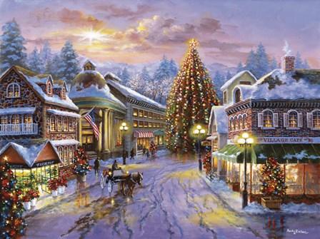 Christmas Eve by Nicky Boehme art print