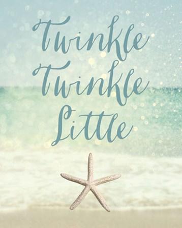 Twinkle Twinkle Little Star(fish) by Sparx Studio art print