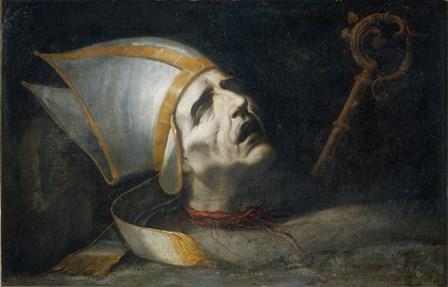 Saint Fulgenzio by Juan de Valdes Leal art print