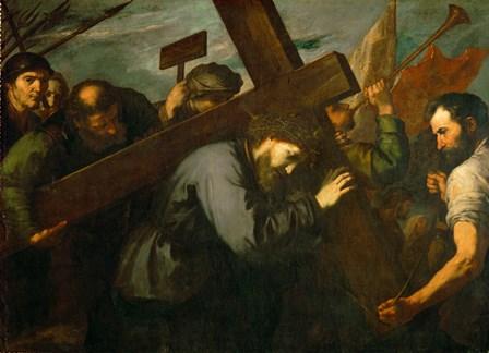 Christ Carrying the Cross, c. 1630 by Jusepe De Ribera art print