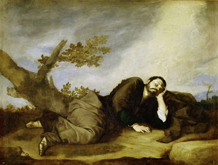 Jacob's Dream, 1639 by Jusepe De Ribera art print