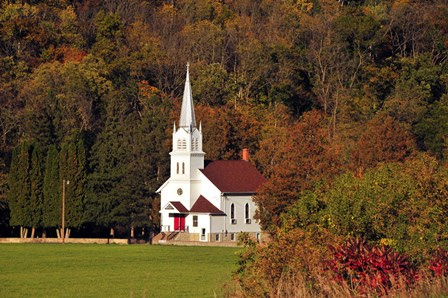 Church In the Valley by Doug Ohman art print
