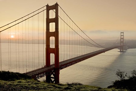 Golden Gate Sunrise #2 by Alan Blaustein art print