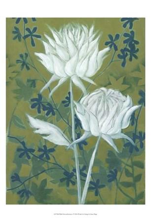 Wild Chrysanthemums I by Grace Popp art print