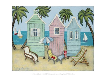 At the Beach I by Holly Wojahn art print