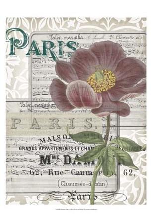 Musical Paris I by Jennifer Goldberger art print