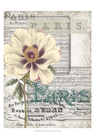 Musical Paris II by Jennifer Goldberger art print