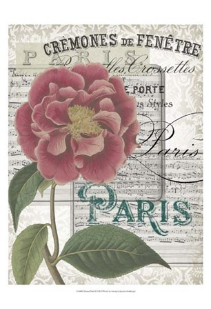 Musical Paris III by Jennifer Goldberger art print