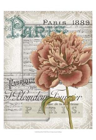 Musical Paris IV by Jennifer Goldberger art print