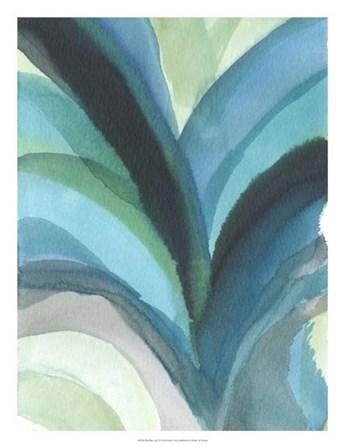 Big Blue Leaf I by Jodi Fuchs art print