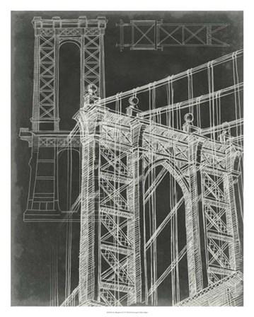 Iconic Blueprint I by Ethan Harper art print