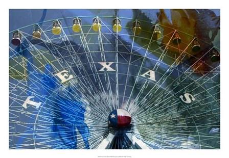 Texas Ferris Wheel by Sisa Jasper art print