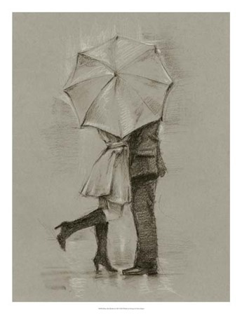 Rainy Day Rendezvous III by Ethan Harper art print