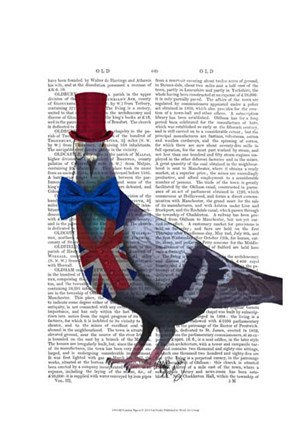 London Pigeon by Fab Funky art print