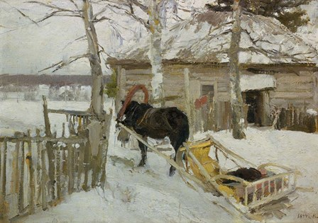 Winter by Konstantin Korovin art print