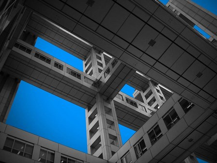 Floors Of Fuji Building by Naxart art print