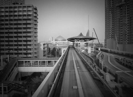 Tokyo Train Ride 1 by Naxart art print