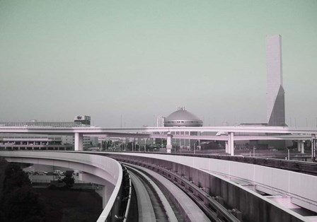 Tokyo Train Ride 2 by Naxart art print
