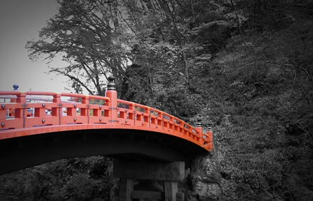 Nikko Red Bridge by Naxart art print