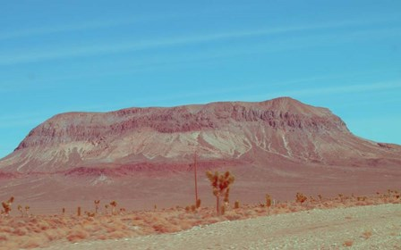 Desert Mountain by Naxart art print