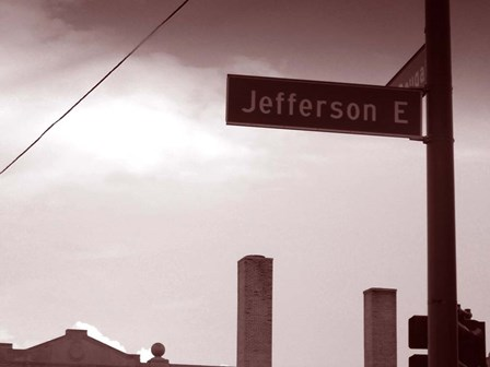 Jefferson Avenue by Naxart art print