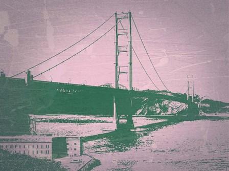 Golden Gate Bridge by Naxart art print