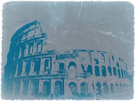 The Coliseum by Naxart art print