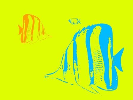 Aquarium 1 by Naxart art print