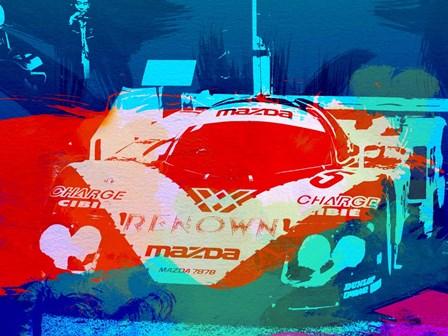 Mazda Le Mans by Naxart art print