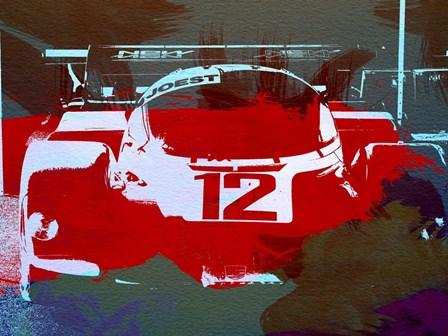 Porsche Le Mans by Naxart art print