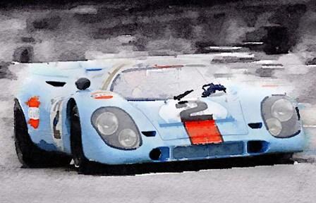 Porsche 917 Gulf by Naxart art print