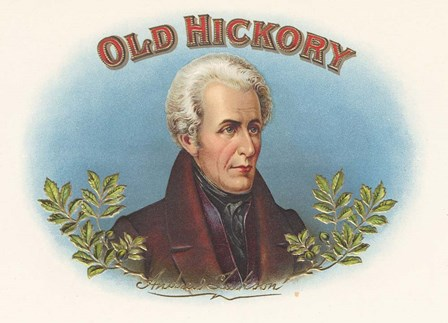 Old Hickory by Art of the Cigar art print