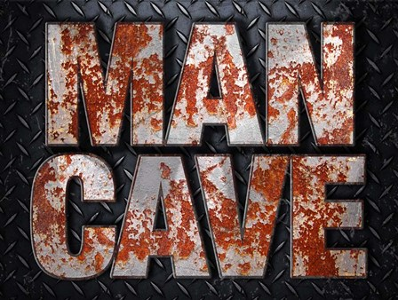 Man Cave by RetroPlanet art print