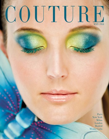 Couture May 1958 by HC Archives art print