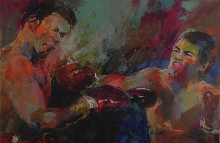 Ali by Richard Wallich art print