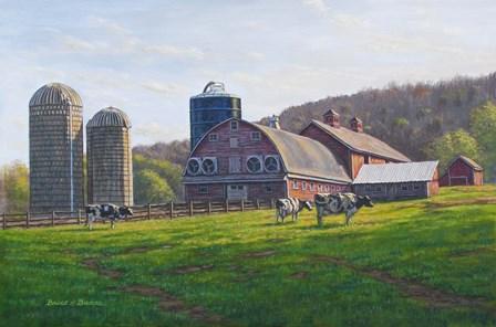Lone Pine Farm by Bruce Dumas art print