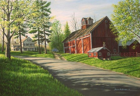 Stuart Farm by Bruce Dumas art print