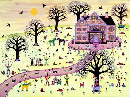 Celebration by David Sheskin art print